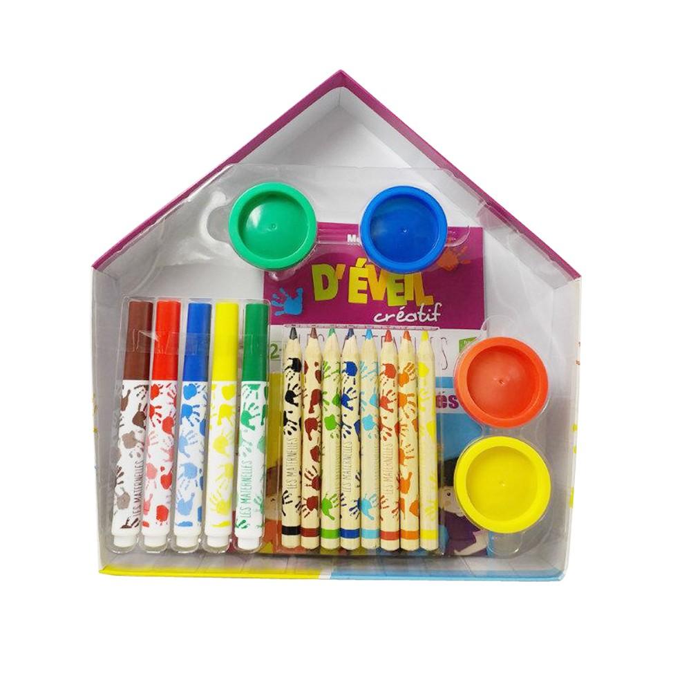 Канцелярские товары, оптовая продажа, Необычный детский набор канцелярских принадлежностей для рисования