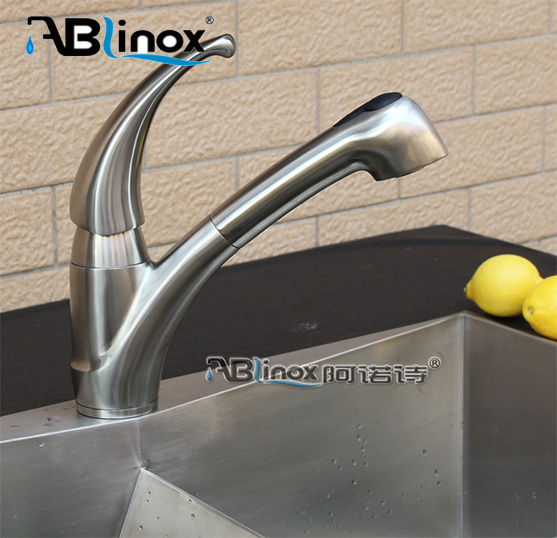 CE сертификат, конкурентоспособная заводская цена, кухонный водопроводный кран, смеситель из нержавеющей стали, кухонный кран