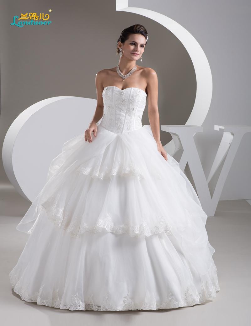 Cheap Ball Gown Wedding Dresses: Cheap Princess Ball Gown Corset Bodice Wedding Dresses