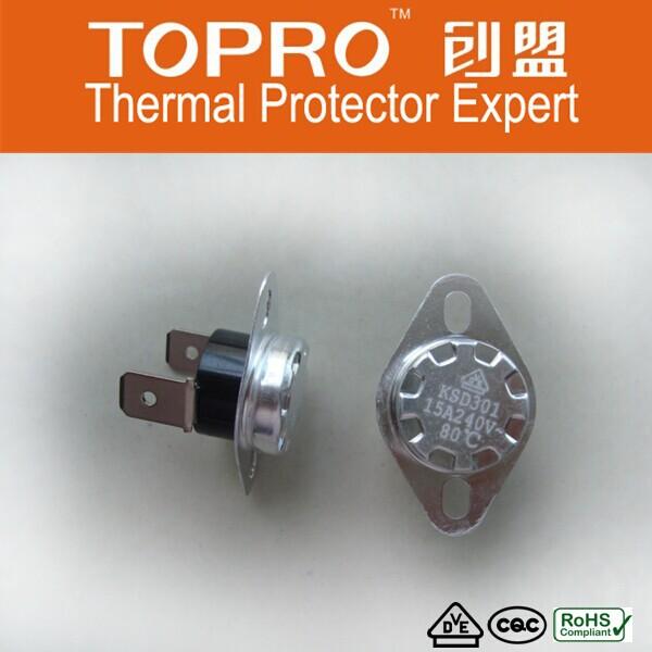Ksd301 Thermostat 16a 125v 150c