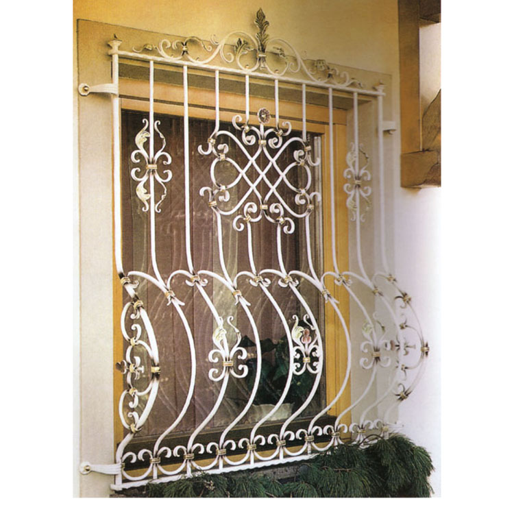 Decorative Safety Wrought Iron Windows Grill Made In China Buy Wrought Iron Windows Grill Metal Windows Grill Metal Windows Product On Alibaba Com