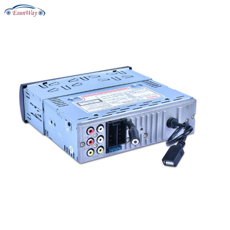1 Din ЖК-дисплей автомобиля Mp3 плеер Радио/видеодиск/CD/FM/AM/AUX/TF объемом до 32 GB USB/ SD 4-канальный интерфейс аудиовыхода часы/EQ автомобильный радиоприемник