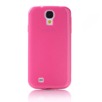 For Samsung i9190 Galaxy S4 mini Gel TPU Case Cover attractive and durable PU Cover for Samsung Galaxy S4 Mini