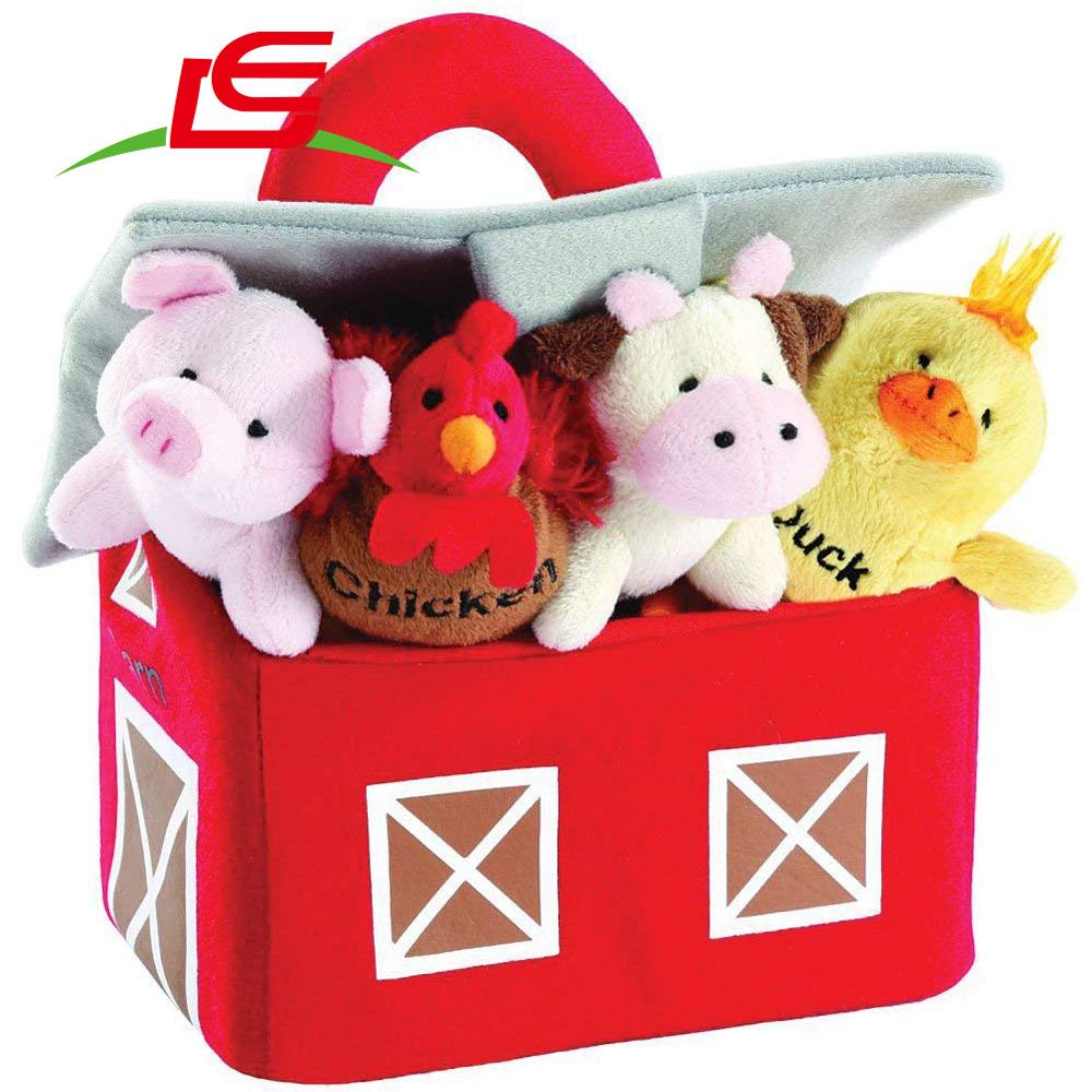 New 2018 Farm Carrier Plush Farm And Animals With Sounds Carrier Set By Animal House Animals Kids Toys Buy Plush Farm Animal Toy Farm Animal Statues Plush Toys Stuffed Animals With Sound Product