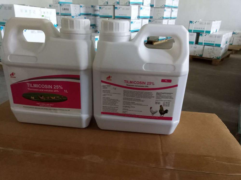 30% Tilmicosin oral solution for poultry