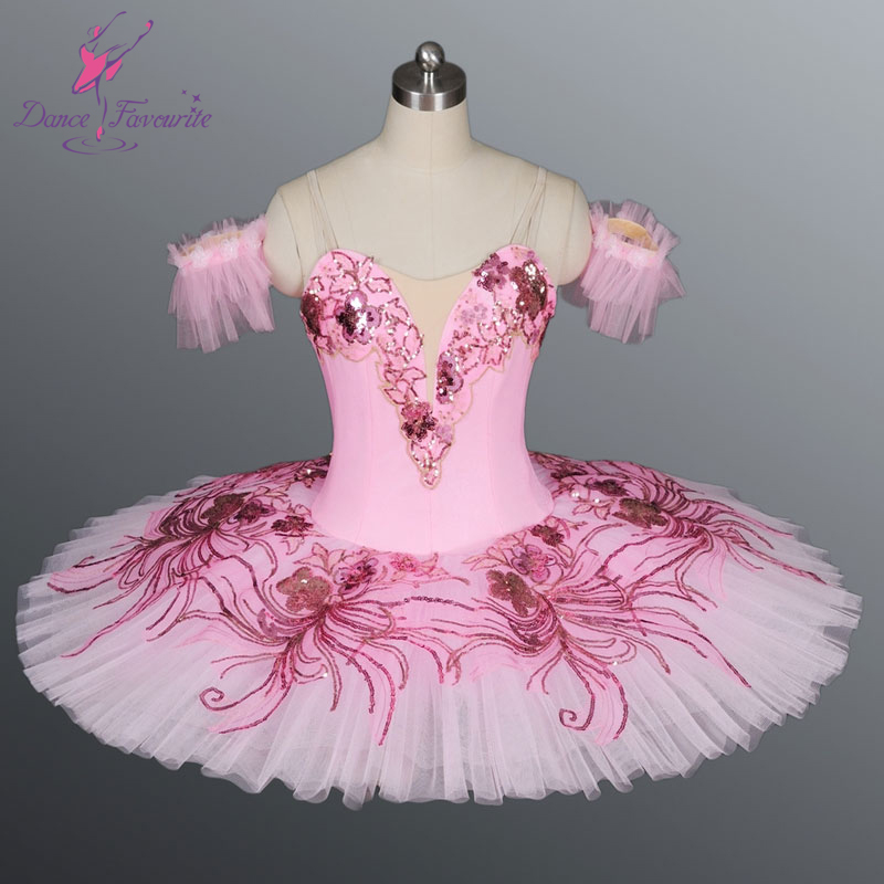 Adult pink classic ballet tutu, ballerina dance tutu dress ...