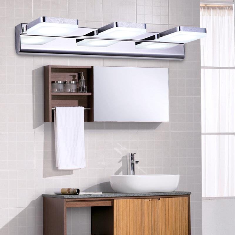 Modern Minimalist Bathroom Design: The New High Grade Acrylic Led Mirror Front Lamps Modern
