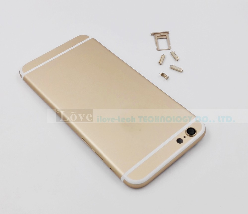 Iphone  Backcover Gold