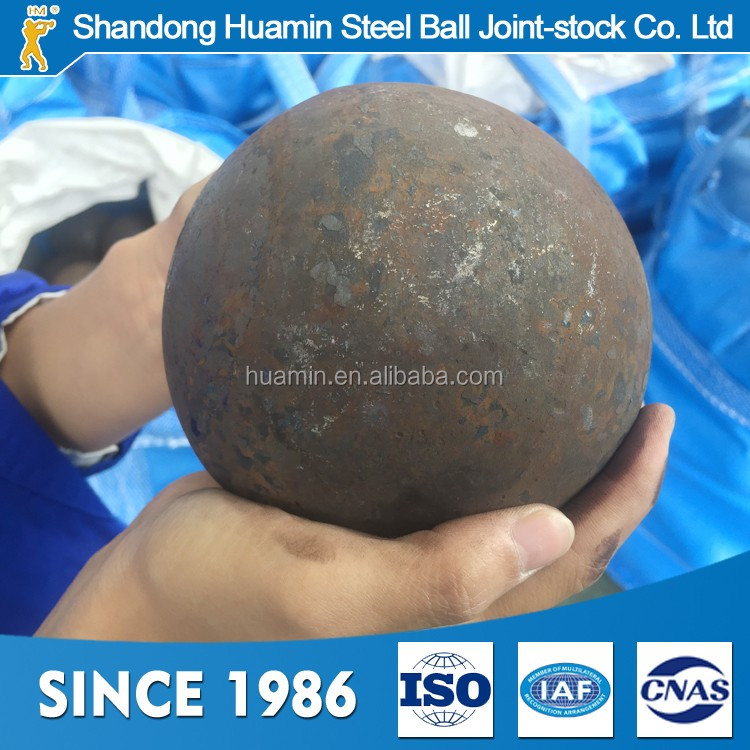 Chinese manufacturers 120mm steel balls grinding media