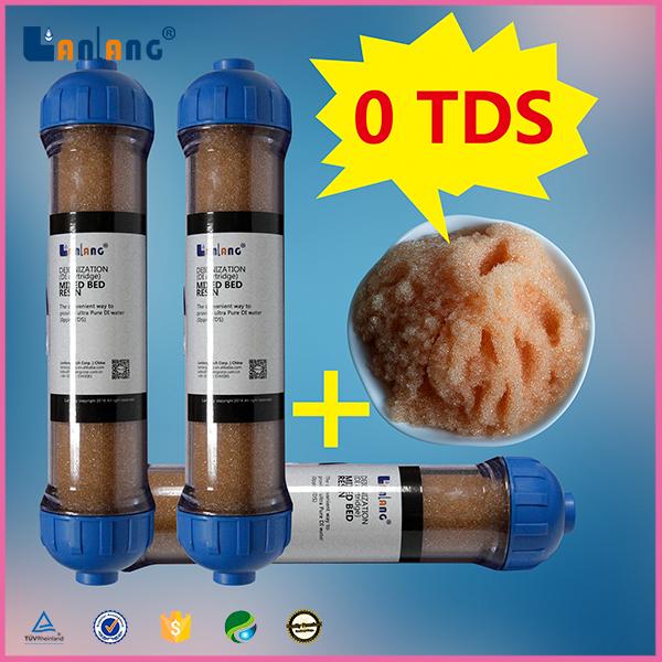 mixed deionizer resin refill di cartridge