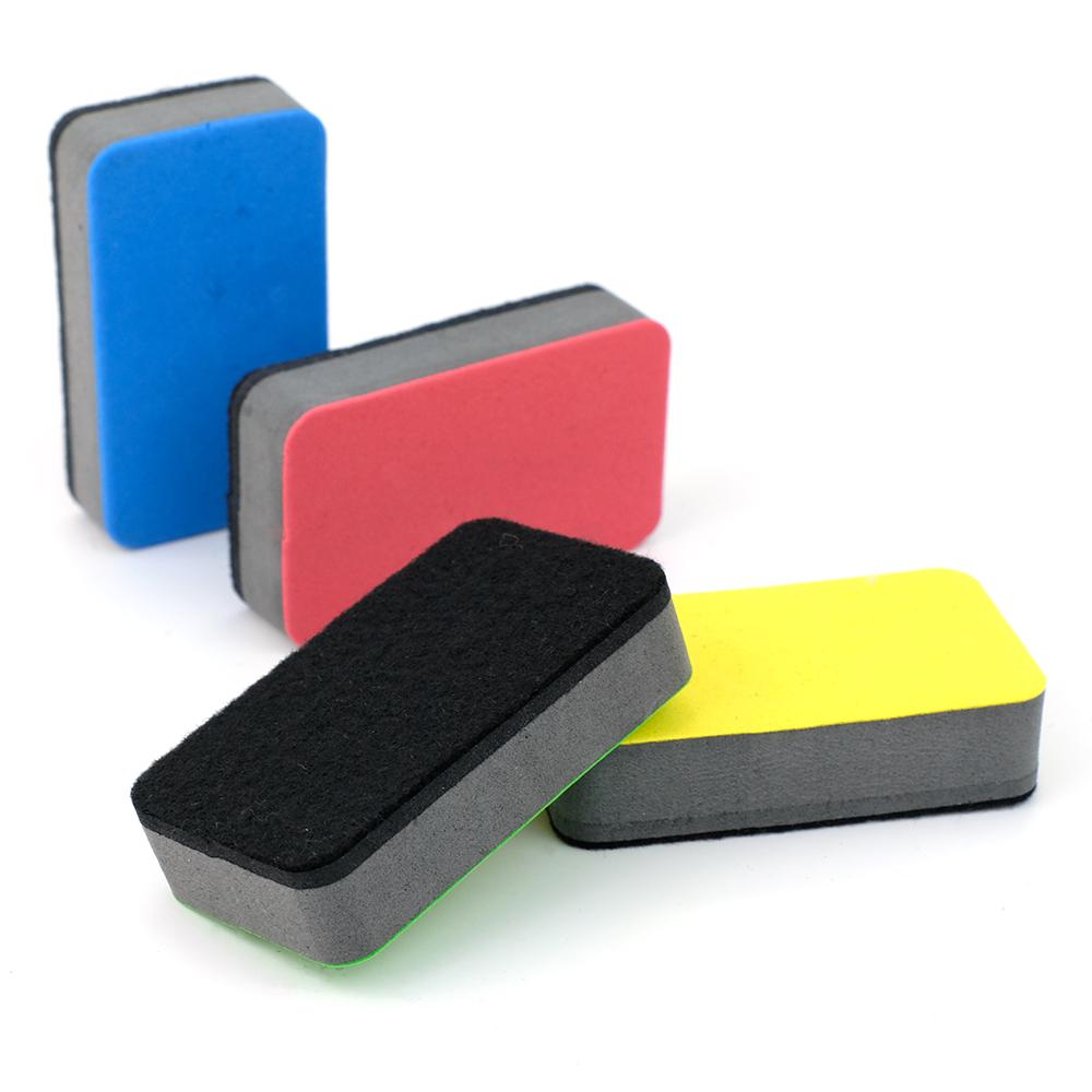 Colorful oblong Shape Dry EVA Magnetic Whiteboard Eraser - Yola WhiteBoard | szyola.net