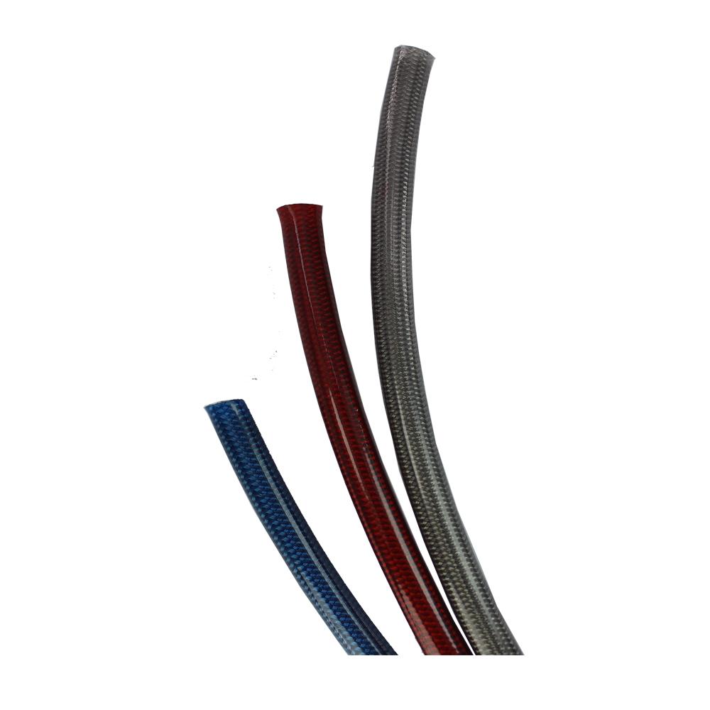 Гидравлическая труба AN4/16, нейлоновый плетеный шланг из нержавеющей стали, масляный радиатор, резиновый шланг-CPE