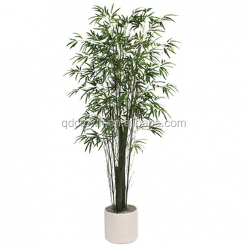 Factory make home decorative bamboo tree silk trees lucky large indoor plants plant artificial factory