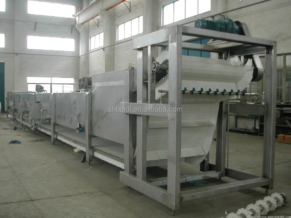 Continuous Water Bath Sterilizer Machine