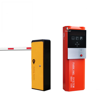 CE Approved RFID and IC/ID Barcode Ticket Vehicle Access Control Auto Payment Barrier Gate Car Parking Lot System