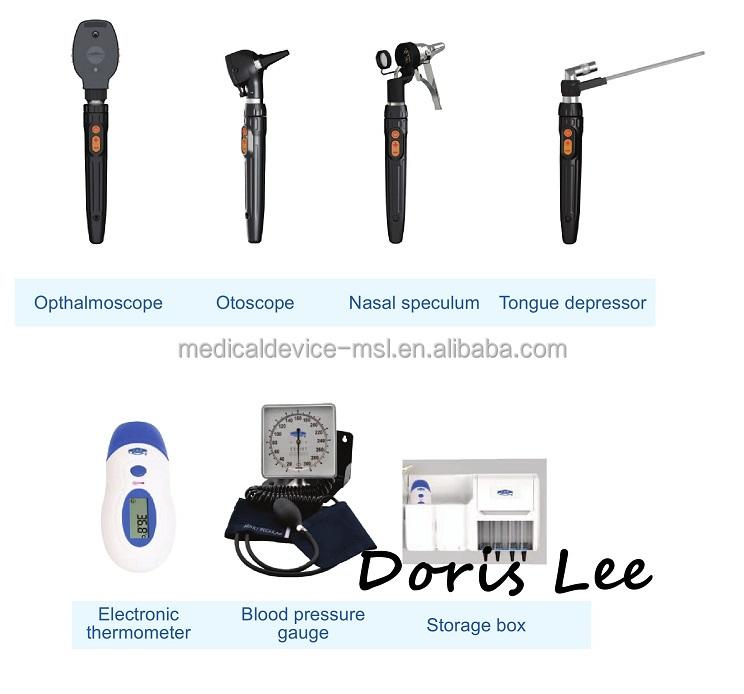 Больничная настенная система общей диагностики ENT, офтальмоскоп, отоскоп