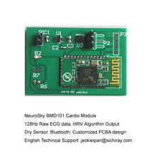 Camera Back Kind Ecg Module With The Hardware Hook Up Guide Free Sdk With  Developement And Hrv Algorithm Output