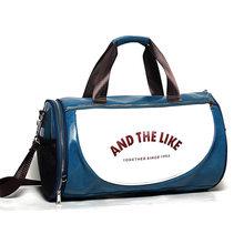 Дорожная сумка для мужчин, женская сумка для фитнеса из искусственной кожи с принтом, баскетбольная тренировочная сумка XA253WC(Китай)