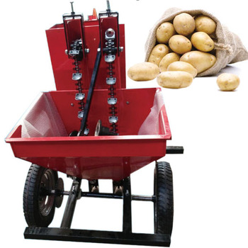Agricultural planting machinery 1 row potato planter with fertilizer