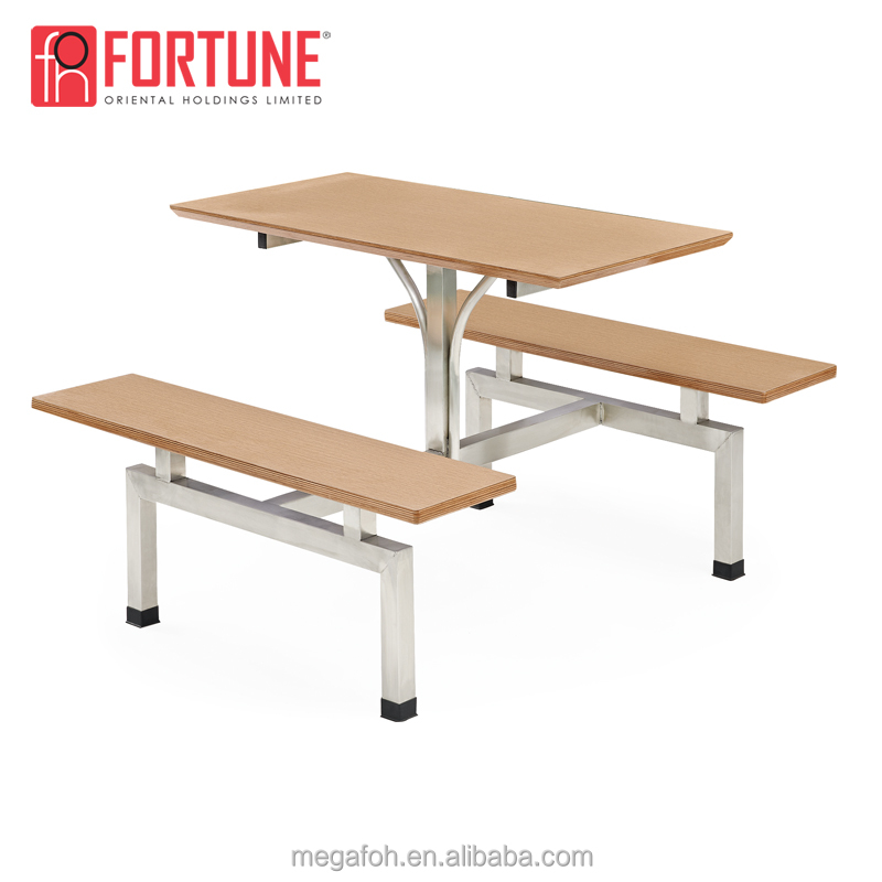 School Canteen Dining Furniture Plywood Connected Table And Chairs Bench Set Buy Canteen Tables And Bench Canteen Table Chairs Canteen Dining Table Sets Product On Alibaba Com