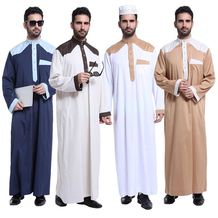 Dubai 2017 Manga Larga Musulmán Wear Hombre Kaftan Jilbab Ropa étnica Arbric Hombres Jubba Thobe Buy Ropa Musulmana De Dubai Mens Kaftan Jilbab Arbric Hombres Jubba Thobe Product On Alibaba Com