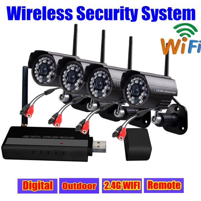digital 2 4g ir usb video surveillance security camera ip network wifi outdoor wireless kit cctv. Black Bedroom Furniture Sets. Home Design Ideas