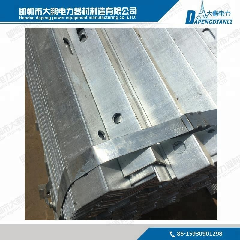 Manufacturers produce high-quality overhead power line accessories, cross arm galvanized