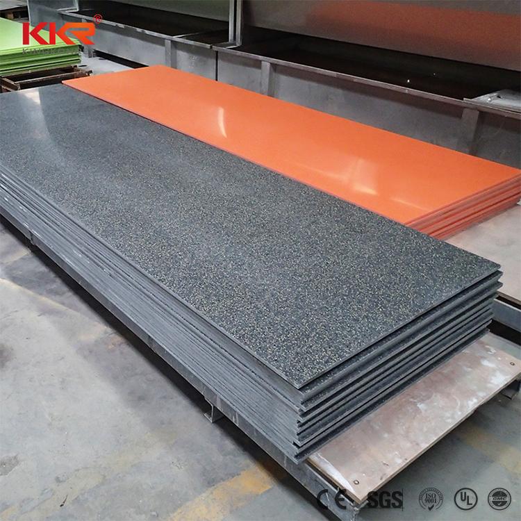 Из искусственного камня, панели высокой плотности акриловая твердая поверхность мраморный взгляд стеновые панели