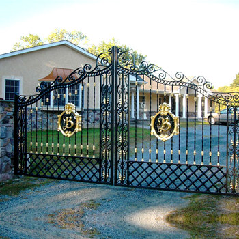 Wrought Iron Driveway Gate Designs