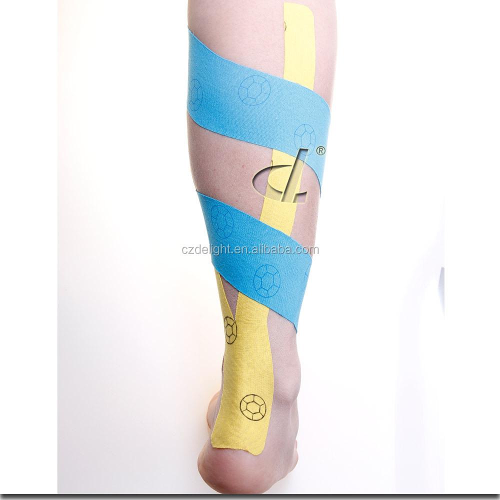 Водонепроницаемая кинезиологическая лента 5 см * 5 м для восстановления спортсменов с патентами