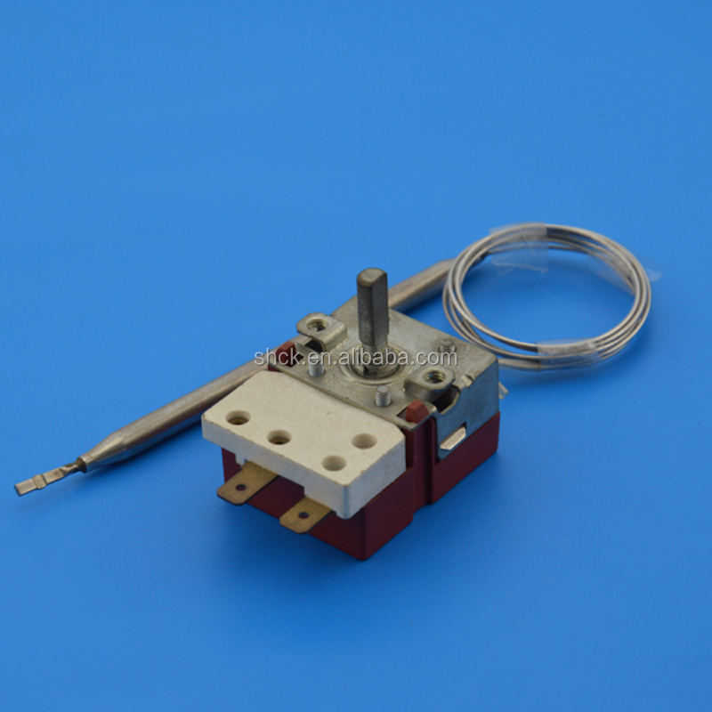 Electric hot plate thermostat