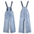 sling denim skirt ladies suspenders jeans skirt summer women skirt