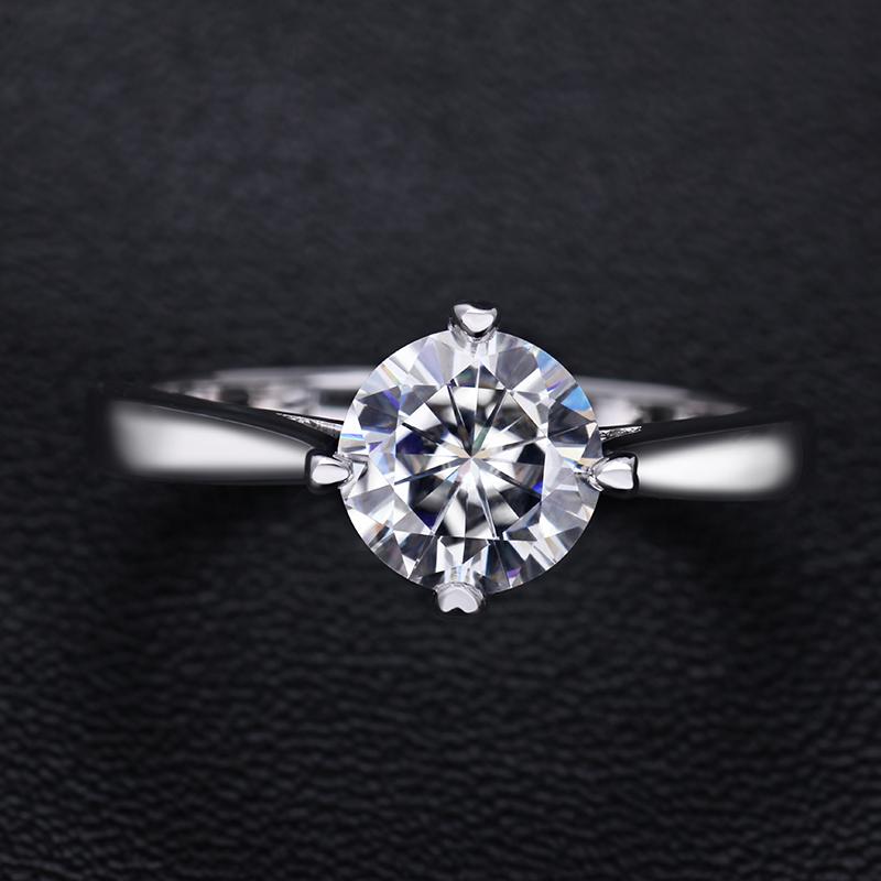 Starsgem новый дизайн кольца серебряные женские ювелирные изделия Муассанит 925 серебряное кольцо