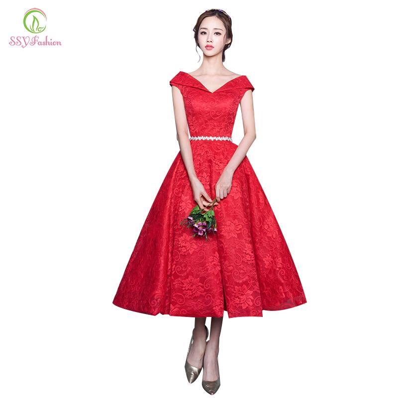 Ssyfashion Long Sleeve Wedding Dresses The Bride Elegant: Aliexpress.com : Buy 2016 New Fashion The Bride Marriage