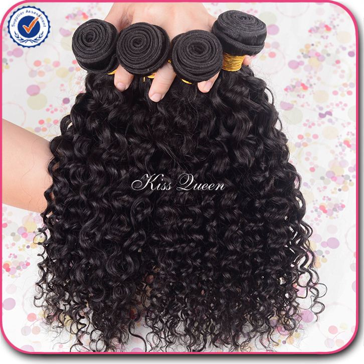 Human Hair Weaves Black Pear 1/3/4pcs Ombre Brazilian Kinky Curly Hair Bundles Weave Human Hair Extensions 1b/4/30 Brown Remy Ombre Hair Bundles