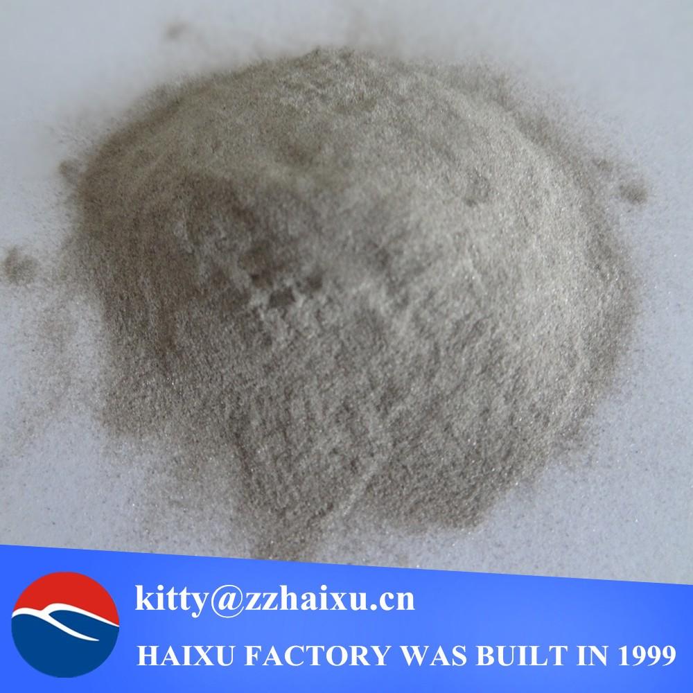 Brown aluminum oxide grit/grain/fines/sand/powder in abrasives