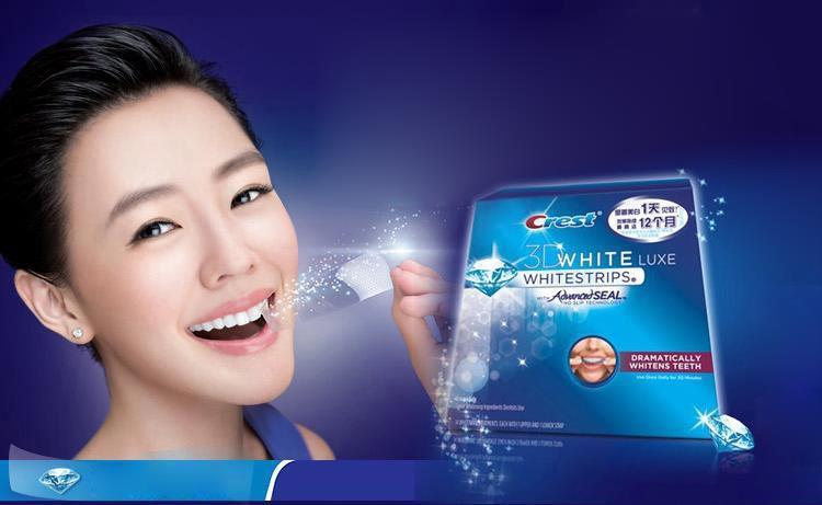 צעיר ערכת הלבנת שיניים ביתית Crest whitestrips 3D advanced vivid HQ-22
