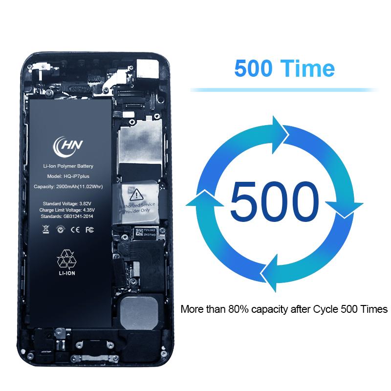 Внутренняя батарея для мобильного телефона класса AAA, 2910 мАч, для iPhone 7 plus