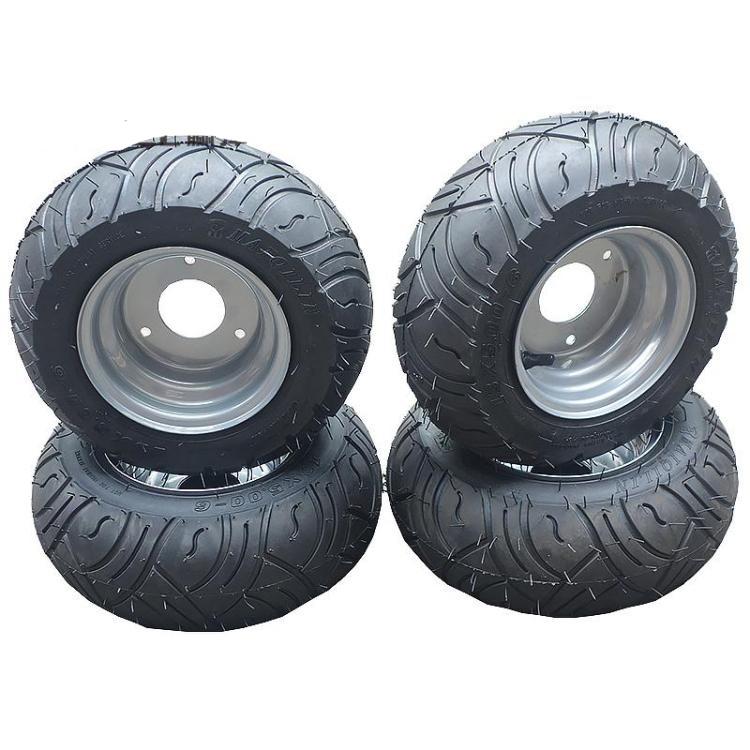 Go Kart Karting Atv Utv Buggy 13x5 00 6 Inch Wheel Tubeless Tyre Tire With Hub Buy Atv Wheel Tire Product On Alibaba Com