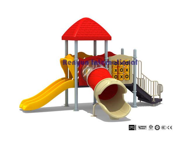 RYF 004 child plastic slide children playground amusement ...