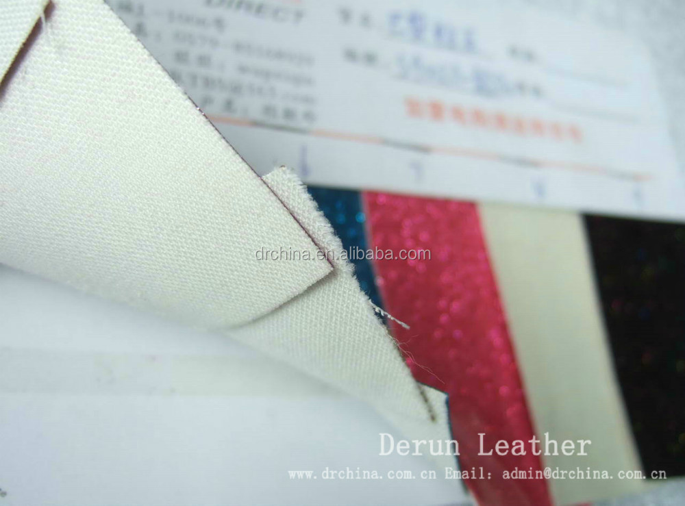 pvc glitter vinyl fabric