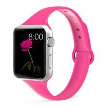 Ремешок для часов Apple watch 5, 44 мм, 40 мм, iWatch 38 мм, 42 мм, спортивный силиконовый ремешок для часов Apple watch 4/3/2/1, 44(Китай)