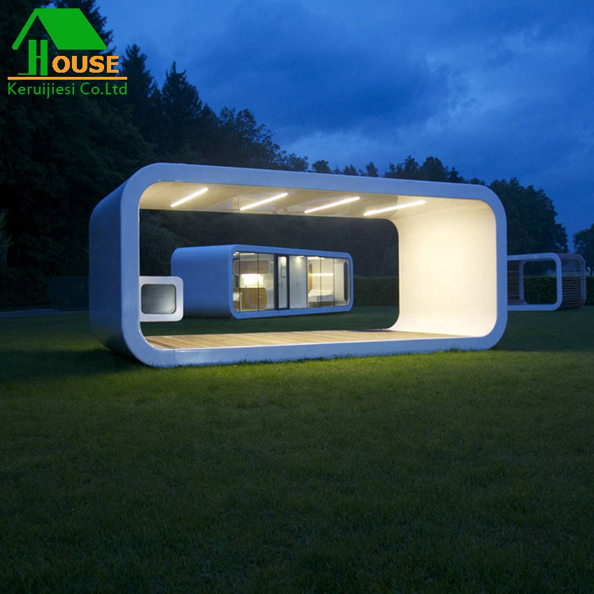 China low cost flat-packed charming container house modern prefab cabin