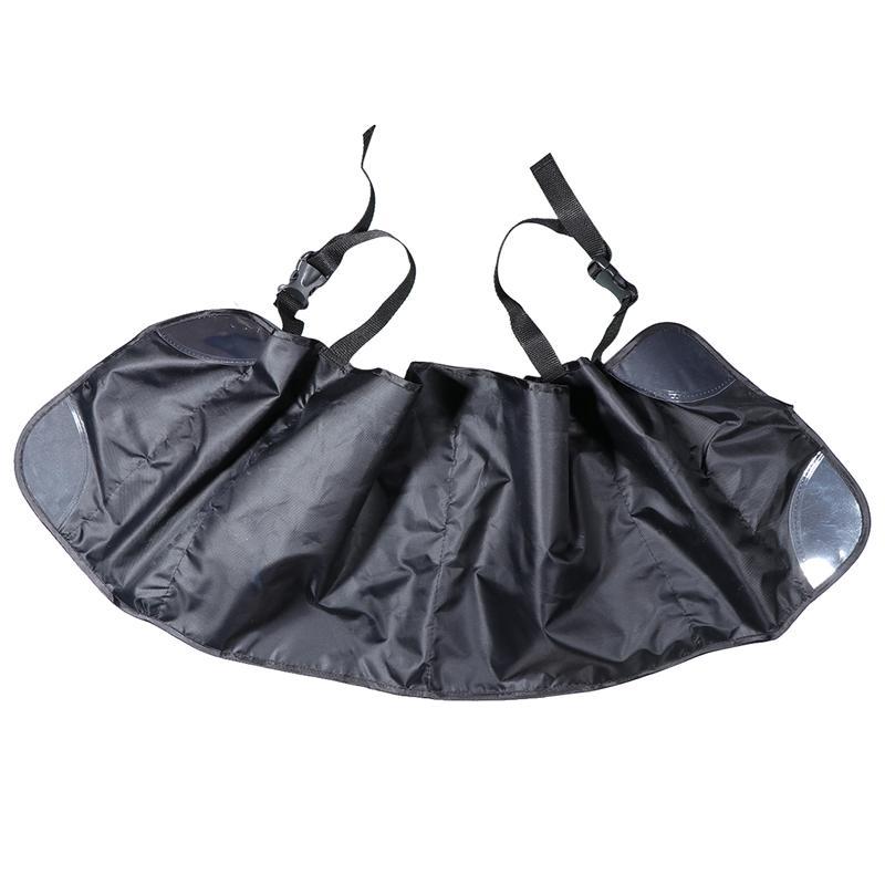 Автомобильный органайзер для багажника сетчатая подвесная сумка на спинку кресла Большая вместительная многокарманная сумка для хранения...(Китай)