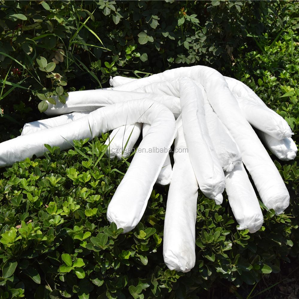 Защита окружающей среды-сорбент-носки, впитывающий пролив масла из мелтблауна
