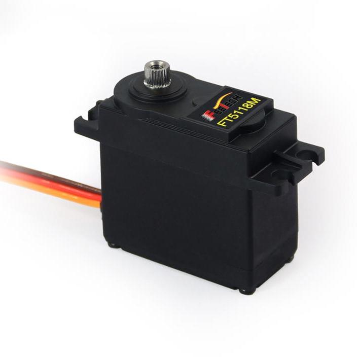 2019 новый продукт Feetch 17 кг Цифровой Металлический Редуктор защита от перегрузки сервопривод FT5118M
