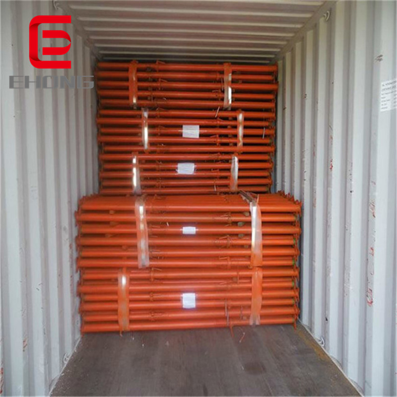 steel scaffolding supporting pole for sale