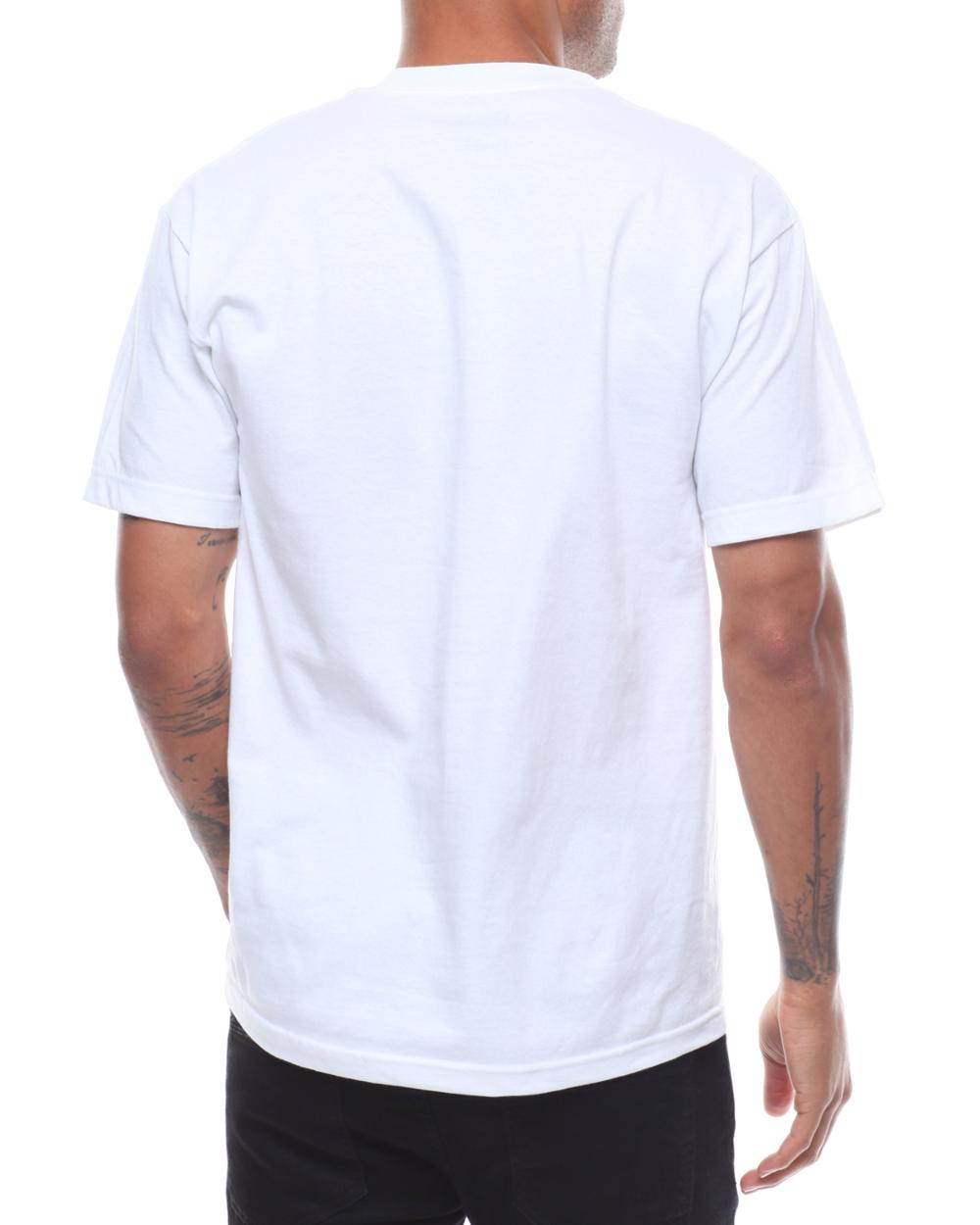 Wellone design your own OEM 100% cotton crew neck man DTG full color digital printing white custom tshirt manufacturers