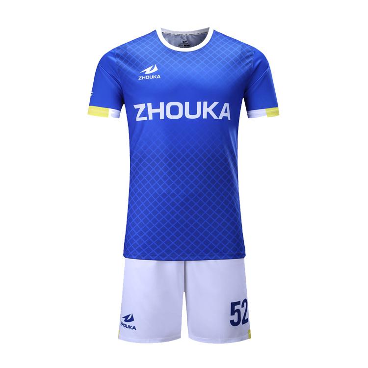 Customized Football Jerseys Online Blue And White Soccer Uniforms Soccer Uniform Set - Buy Blue And White Soccer Uniforms,Soccer Uniform ...