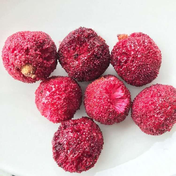 Замороженные фрукты Bayberry без сахара, полностью китайские красные Bayberry